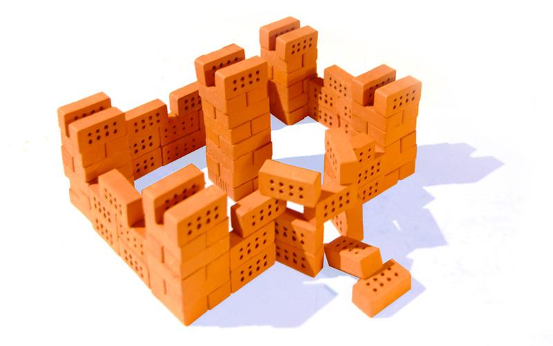briqueterie lanter mini briques pour jeux de construction. Black Bedroom Furniture Sets. Home Design Ideas
